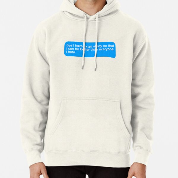 I Have to Study Pullover Hoodie