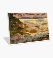 West Coast Sunset Laptop Skin