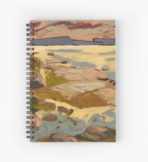 West Coast Sunset Spiral Notebook