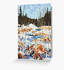 Winter in Gatineau Park Greeting Card