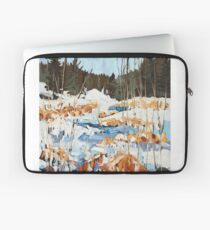 Winter in Gatineau Park Laptop Sleeve