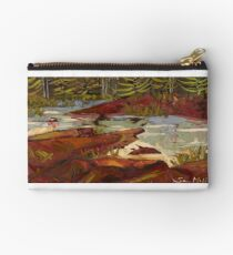 Red Rocks in Algonquin Park Studio Pouch