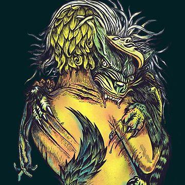 Wolf Under Man's Kin by uwanlibner