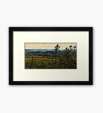 Lookout at Sunset Framed Print