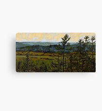 Lookout at Sunset Canvas Print