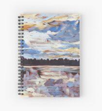 Algonquin Park Sunset Spiral Notebook