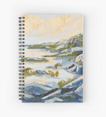 West Coast Rocks Spiral Notebook