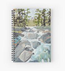 Algonquin rocks Spiral Notebook
