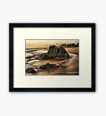 Evening on the Playa Framed Print