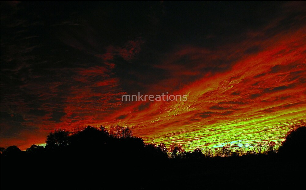 Sky Ablaze by mnkreations