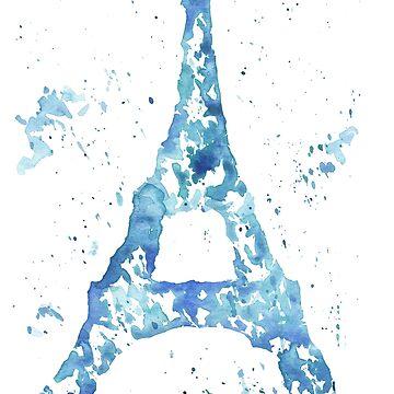 Eiffel Tower by khelland