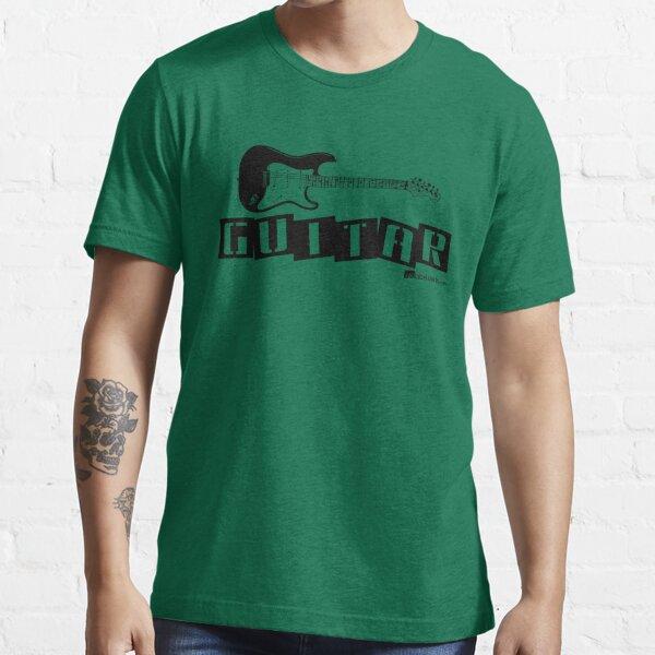 Label Me An Electric Guitar (Black Lettering) Essential T-Shirt