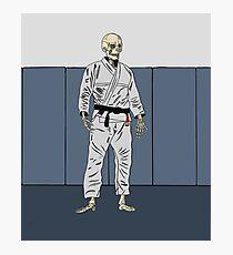 Death Brazilian Jiu-Jitsu Photographic Print