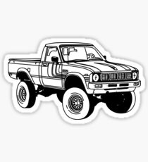 1979 4x4 Pickup Sticker