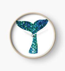 Meerjungfrau Schwanz Uhr