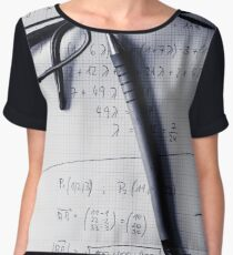 Engineering student calculations Women's Chiffon Top
