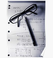 Engineering student calculations Poster