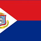 Sint Maarten Flag Products by Mark Podger