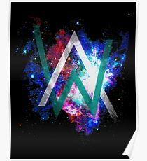 Alan walker posters redbubble alan walker space edition poster stopboris Image collections