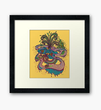 ALONG THIS WINDING ROAD... Framed Print