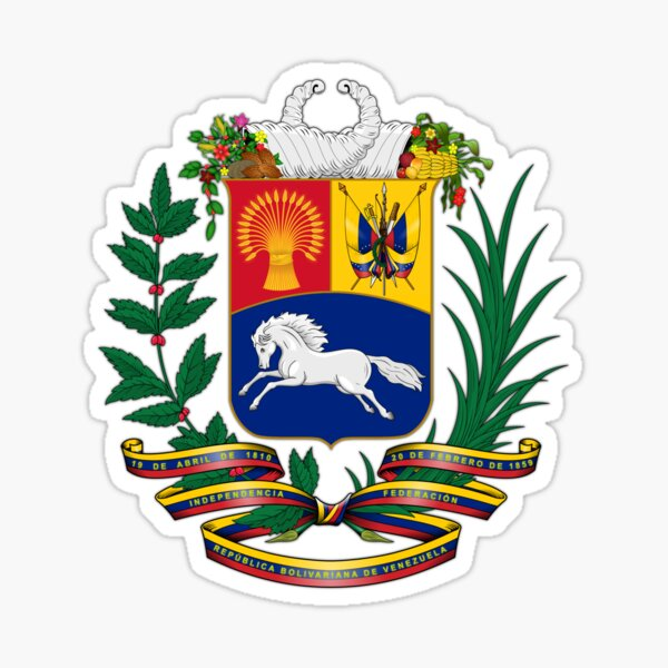 Venezuela, escudo de armas Pegatina