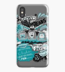 THE FROZEN CAT HEADS - LIVE!  iPhone Case/Skin