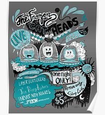 THE FROZEN CAT HEADS - LIVE!  Poster