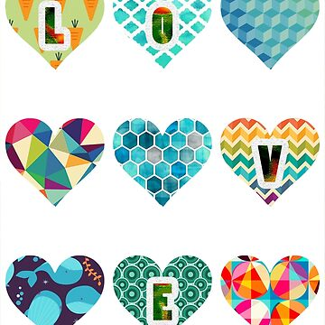 Love Hearts by Bestmarkeverrr