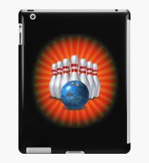 Bowling Pins and Ball iPad Case/Skin
