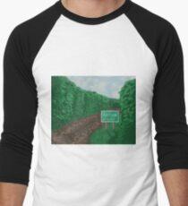 The Road to Ostium Men's Baseball ¾ T-Shirt