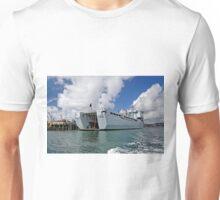 RFA Mounts Bay (L3008), Falmouth Docks Unisex T-Shirt