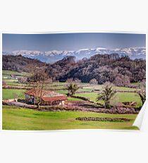 Basque Country Farmhouse Poster