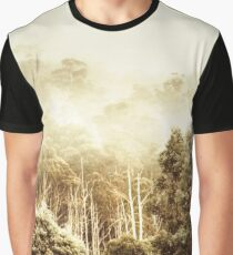 Rustic Tasmanian rural forest Graphic T-Shirt
