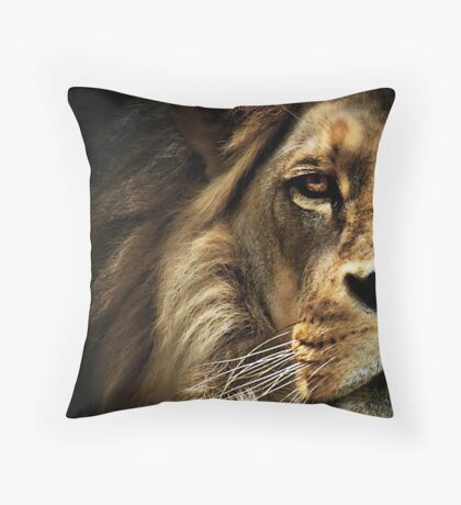 Majestic Dominance Throw Pillow