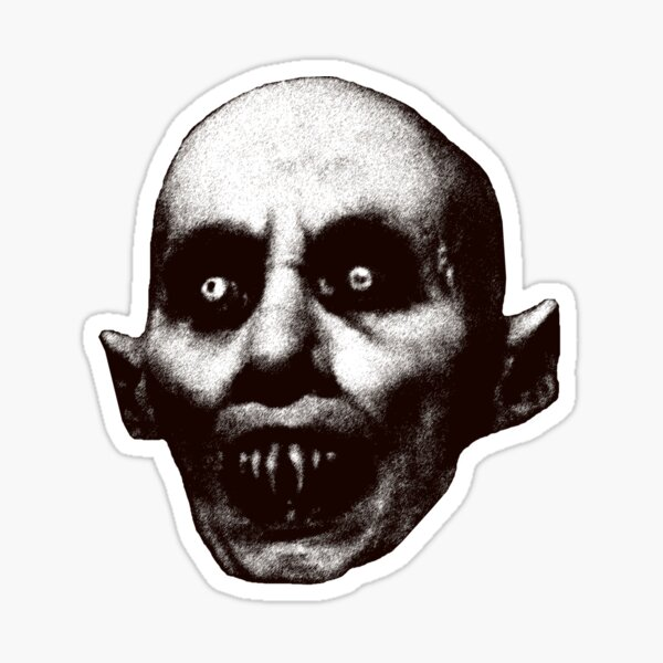Nosferatu the Vampire cult classic goth gothic horror lover gift Halloween t shirt Sticker