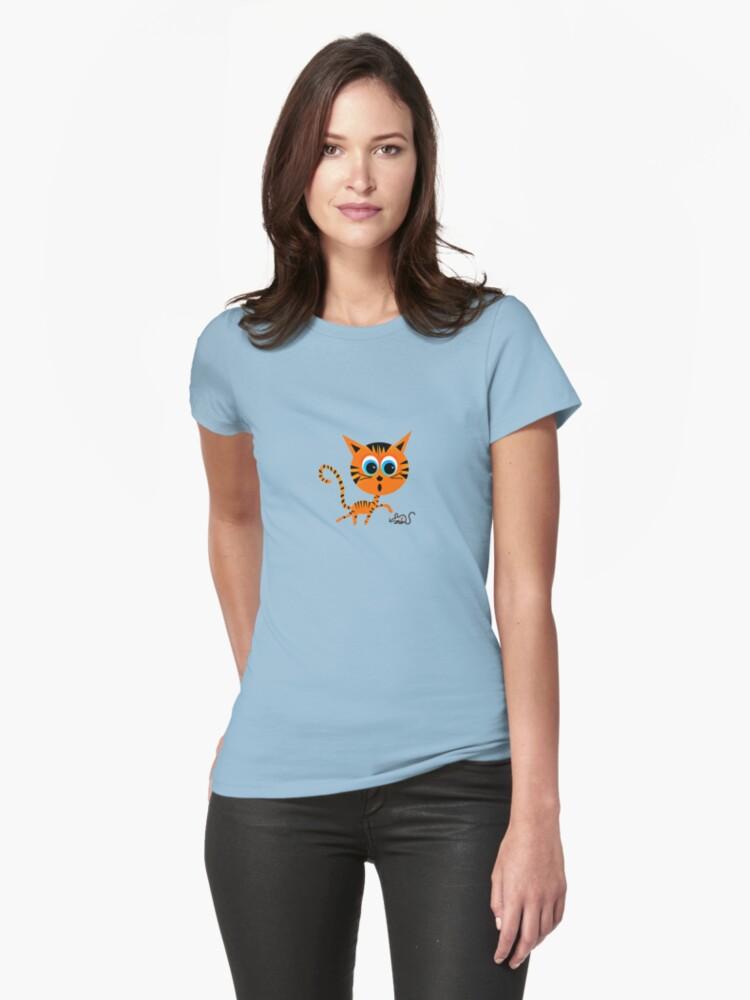 Tiger & Mouse Teeshirt by Ryan Houston