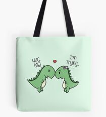 Dino Love! (Hug Me!) Tote Bag
