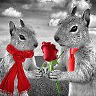 Squirrels in Love by Doreen Erhardt