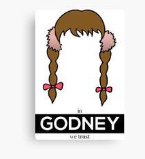 In Godney We Trust (Britney Spears) - New version Canvas Print