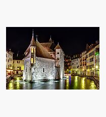 Palais de l'Isle in Annecy, France Photographic Print