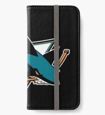 San Jose Sharks iPhone Wallet/Case/Skin