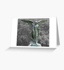 The Angel of the Waters Greeting Card