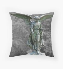 The Angel of the Waters Throw Pillow