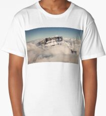 Above the Clouds, French Alps Long T-Shirt