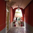 Al Fresco Dining In Nice by Fara
