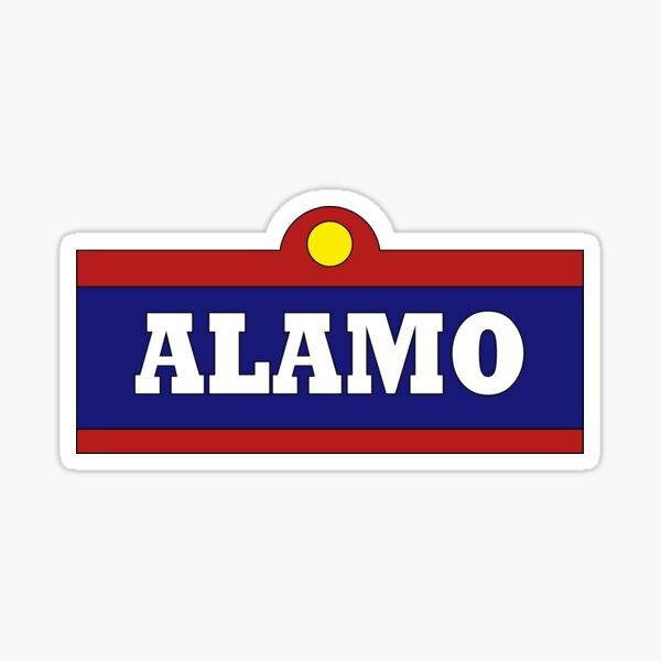 Alamo Beer Sticker