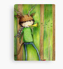 deer man Canvas Print