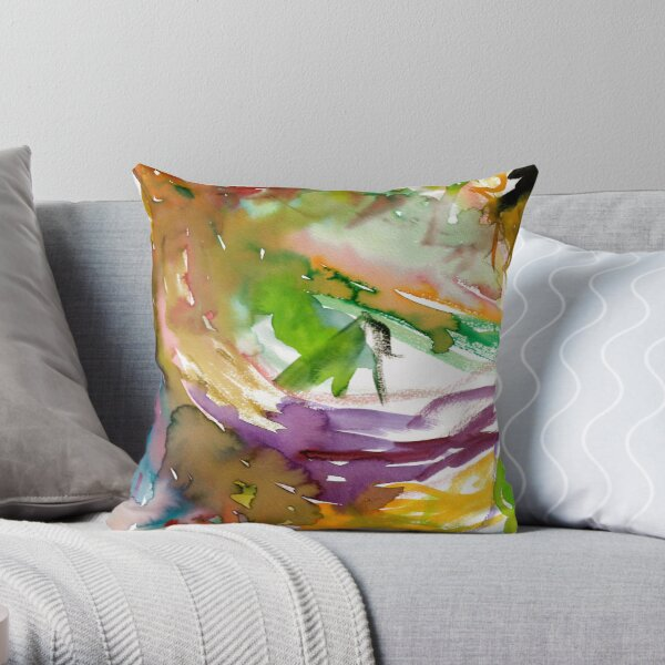 The Mix By A 2 Throw Pillow