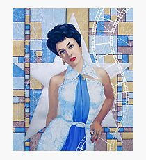 """Elizabeth Taylor, portrait from the """"Old Hollywood""""series Photographic Print"""