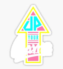 Up your game - Flat version Sticker
